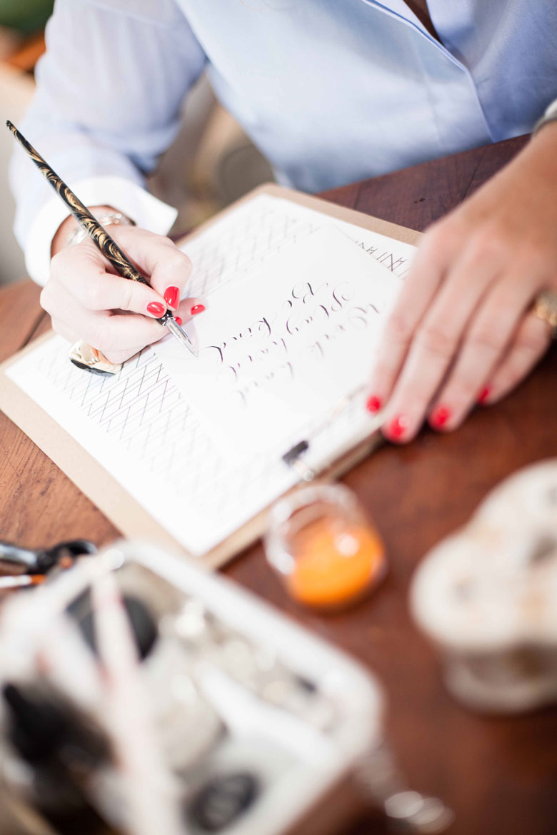 Calligraphy and stationery