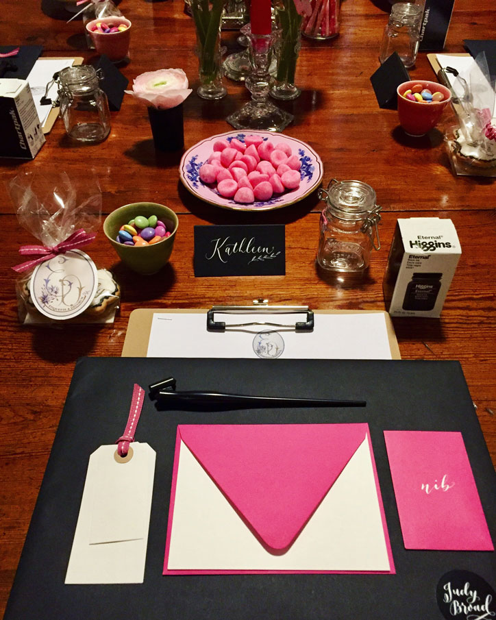 Etiquette & Decorum - Moderne Calligraphy - Judy Broad