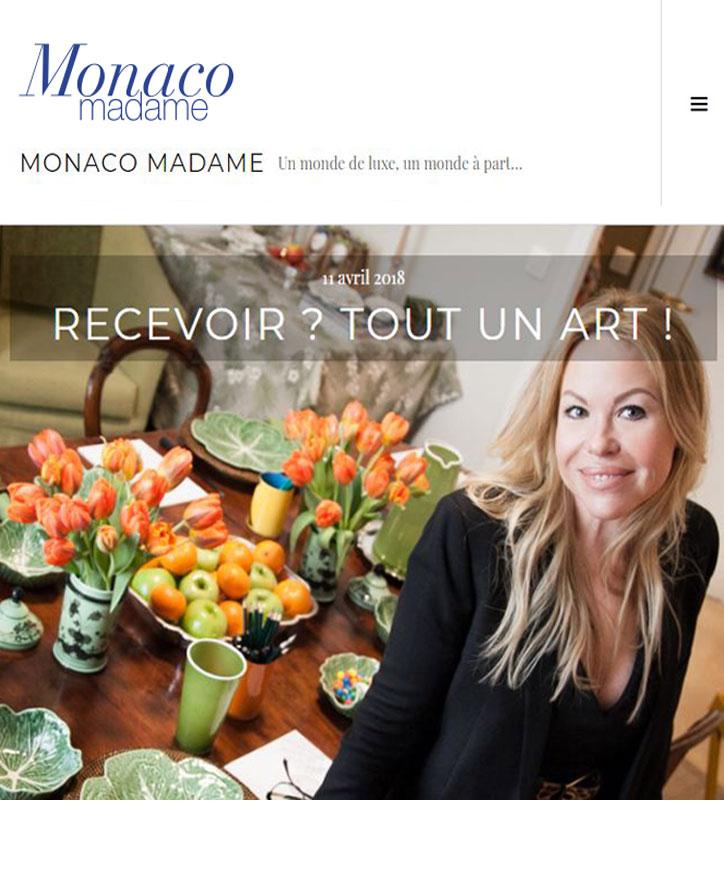 Monaco Madame Monaco - etiquette & decorum - Kathleen Jones