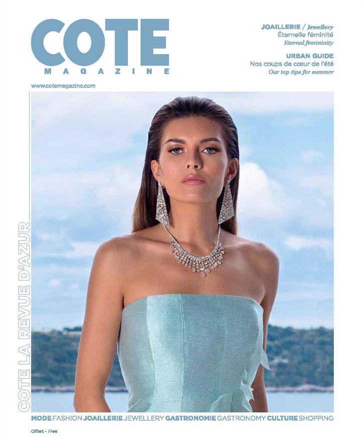 Côte Magazine Aout 2018 - Article Etiquette and Decorum